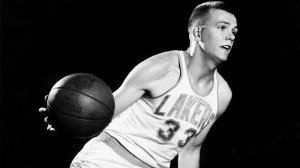 Hot Rod Hundley when he played for the Lakers from 1957-1963.