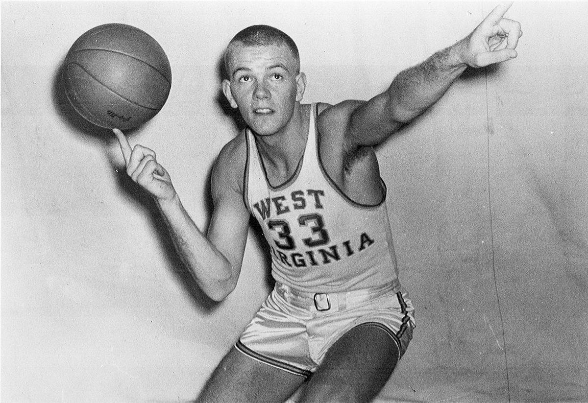 Hundley when he played for West Virginia University.
