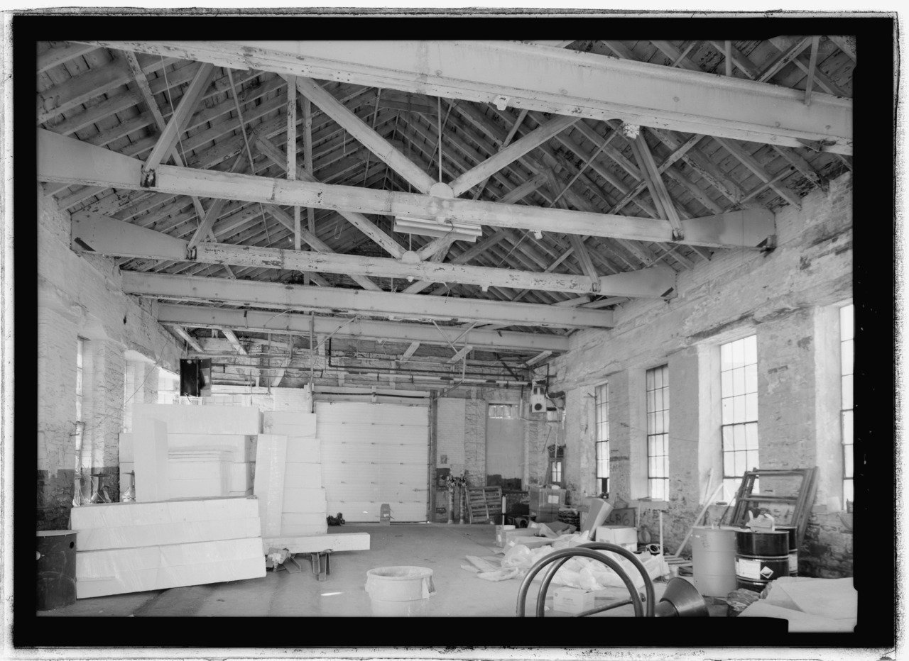 Another interior view showing some renovation work taking place.