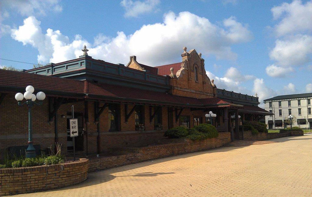 Latrobe Railroad Station - now DiSalvo's Station Restaurant. Photo: Kevin Stewart.