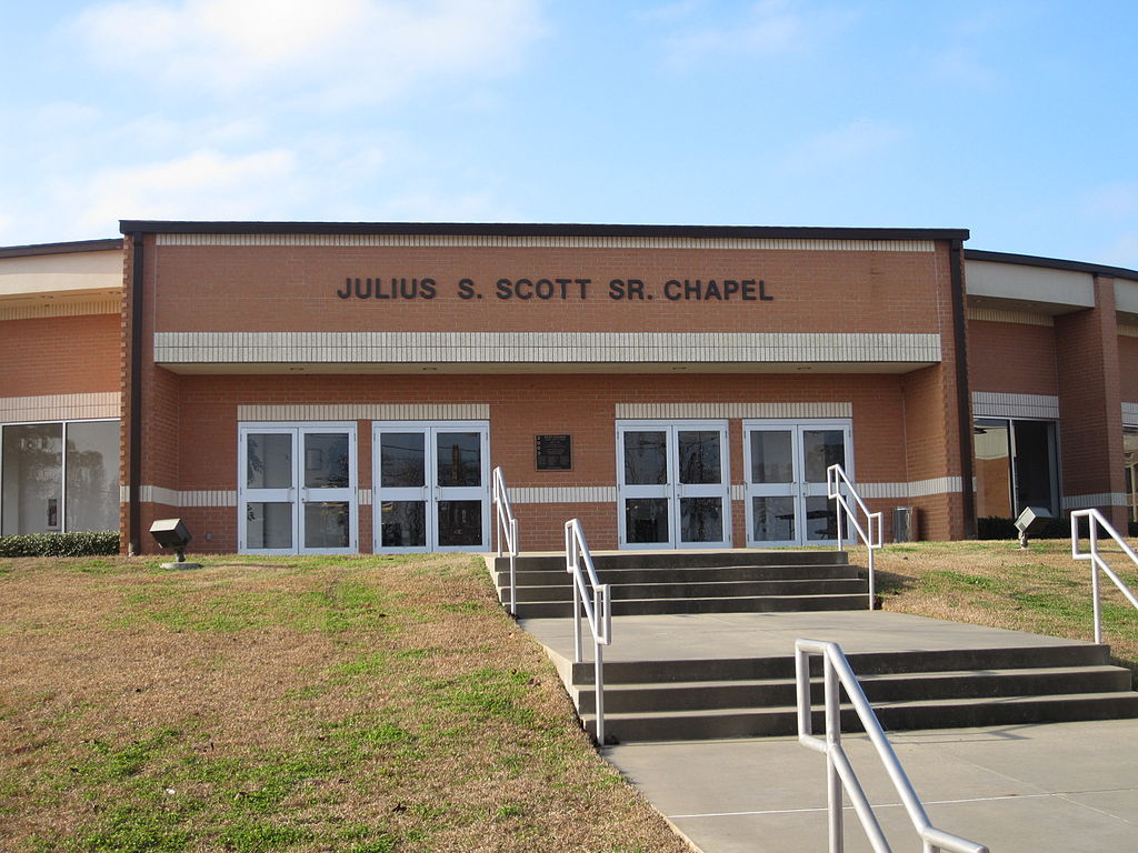 The $2.4 million Julius S. Scott, Sr. Chapel was constructed under the Strickland Administration.  Construction began on September 11, 2001, a date that will forever live in infamy in the United States.