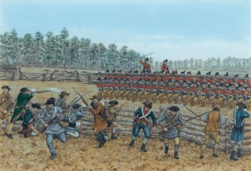 British Advance at the Battle