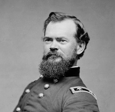 Major General James Birdseye McPherson of the Union Army