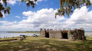 This is Fort Frederica which was erected Three years after founding Georgia in 1733, by General. James Edward Oglethorpe. This played a crucial role in deterring the Spanish from invading Georgia.