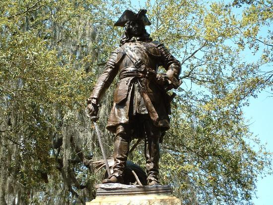 """We are resolved not to suffer defeat - we will rather die like Leonidas and his Spartans - if we can but protect Georgia and Carolina and the rest of the Americans from desolation""- General James Edward Oglethorpe."