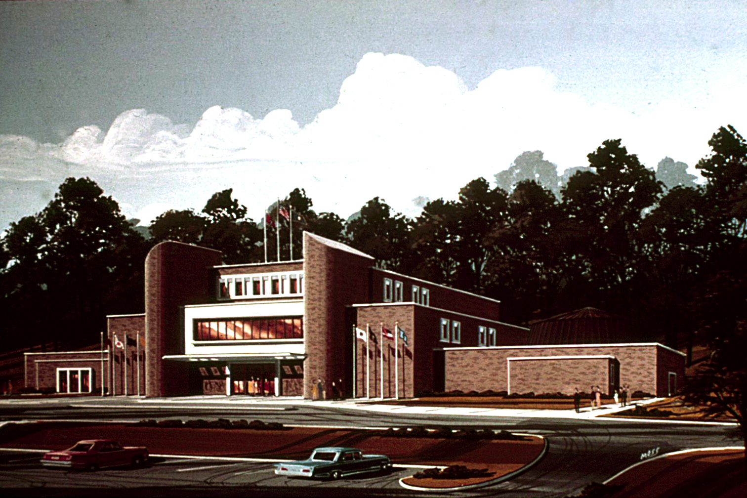 The Cumberland Museum and Science Center opens in Fort Negley Park in 1974. Credit: Adventure Science Center