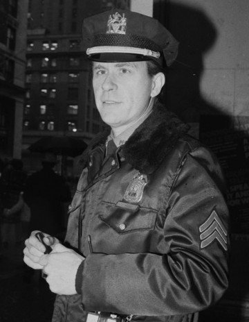 Charles H. Cochrane, the first openly gay New York police officer.
