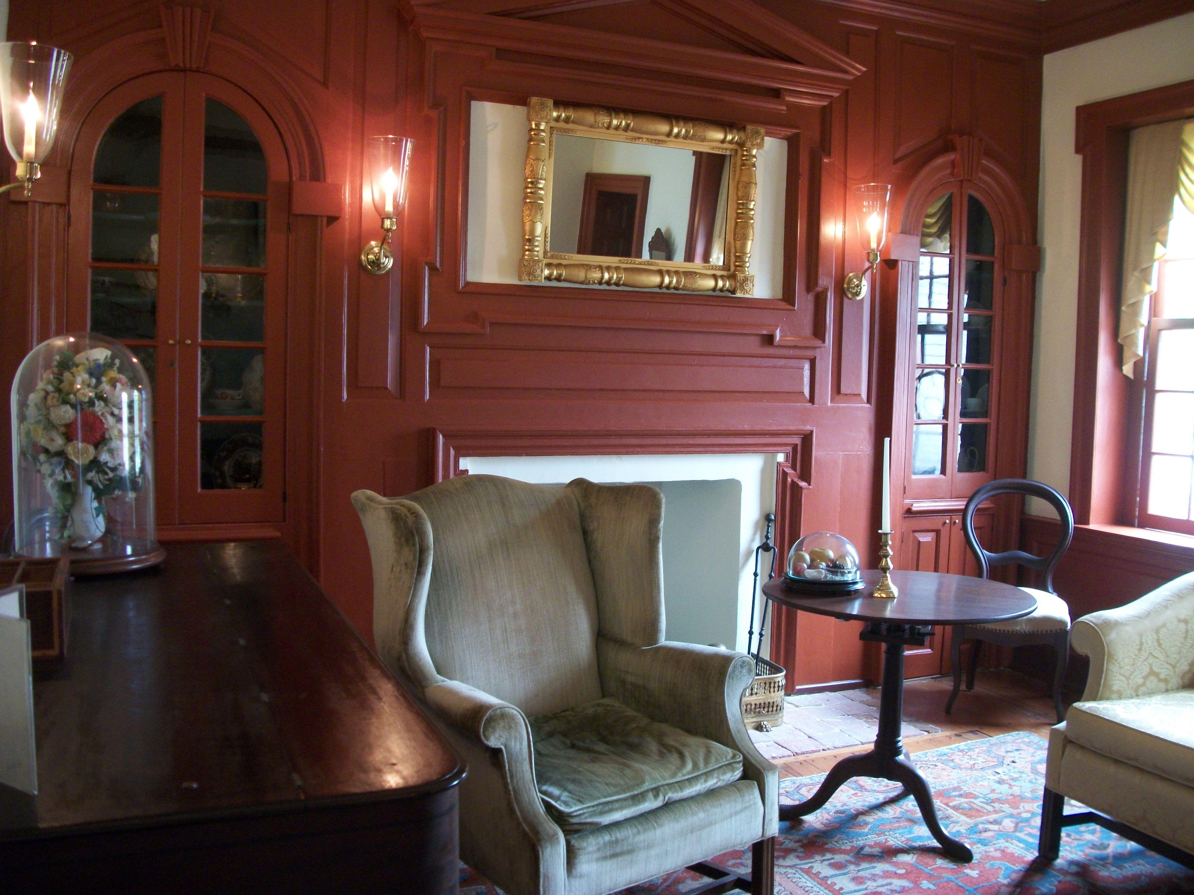 Interior of the Parson Thorne Mansion