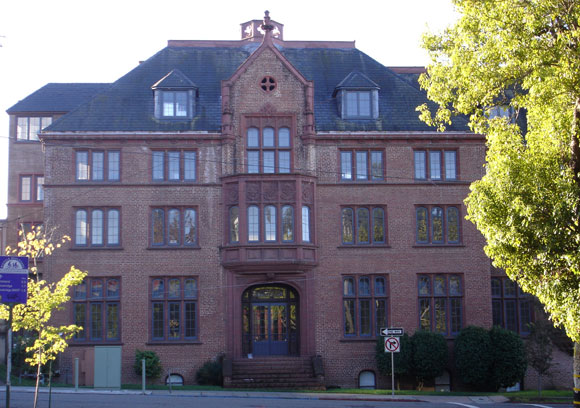 Hobart Hall facade