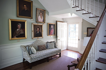 Woodburn's interior