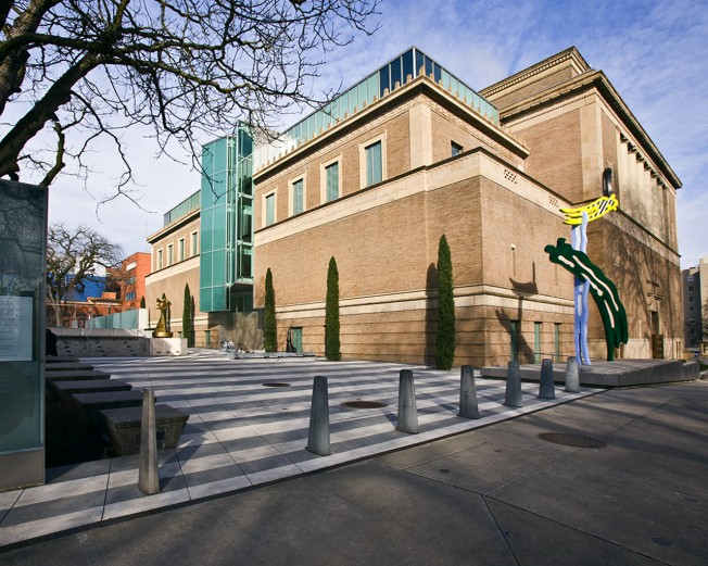 Established in 1892, the Portland Art Museum is the oldest museum in the Pacific Northwest. This building, the former masonic temple the museum bought in 1992, is listed on the National Register of Historic Places.