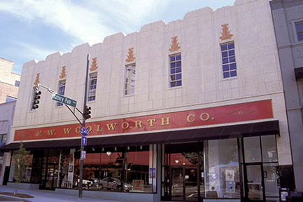 This 1938 Woolworth Building was restored in 2001 and has received two Griffin Awards for historical accuracy