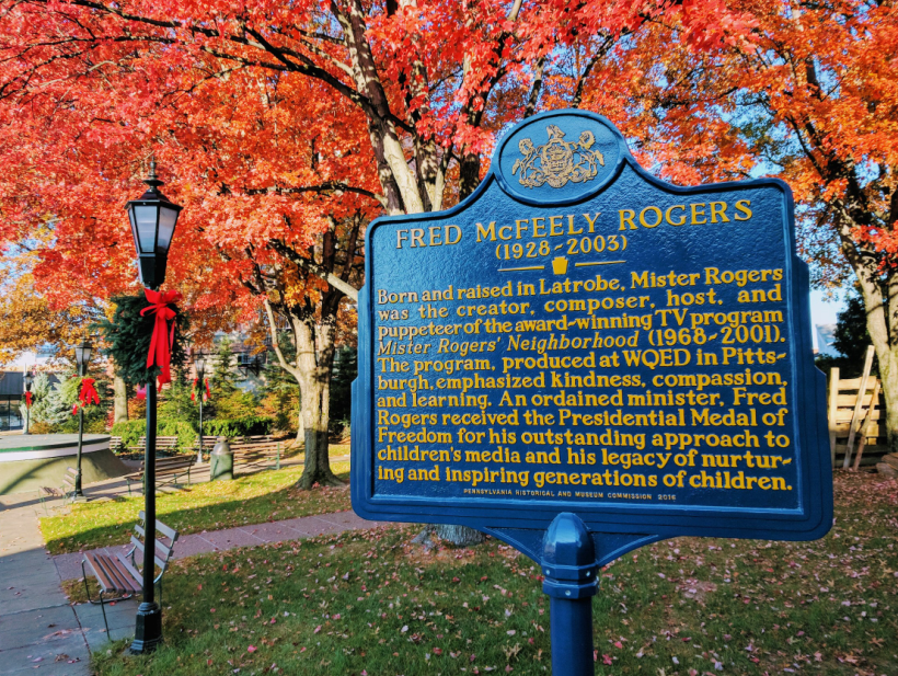 Fred Rogers Historical Marker