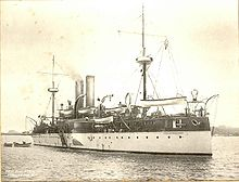 The USS Maine as completed in 1895