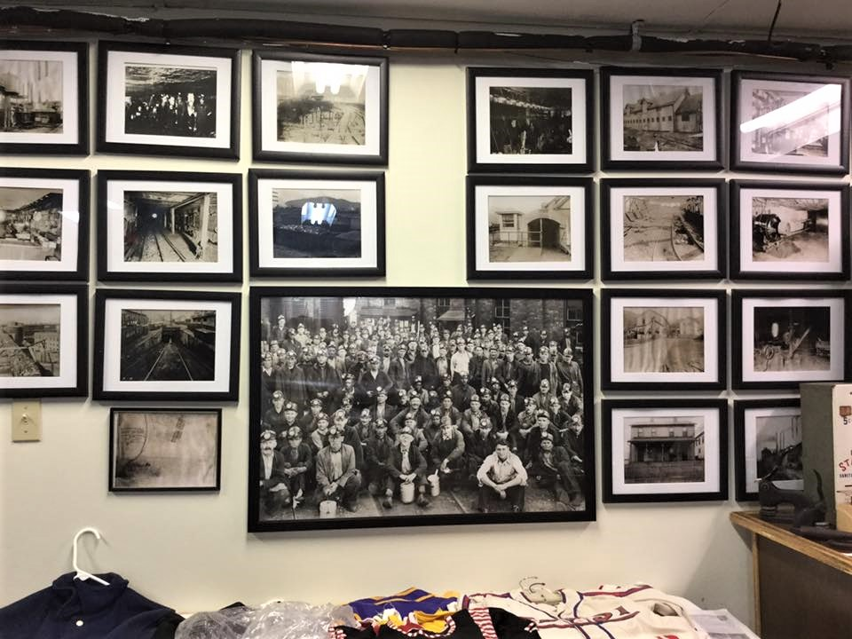 Old photographs from around Marshall County that once hung in Young's Cafeteria are now displayed at the museum.