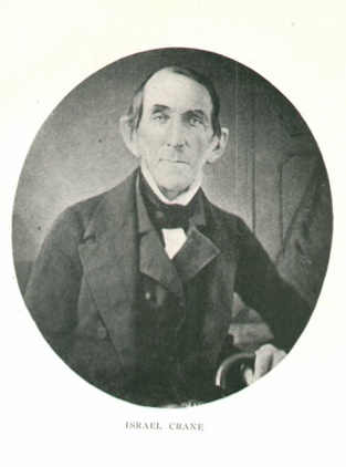 Israel Crane (1774-1858) became the wealthiest businessman in Essex County.