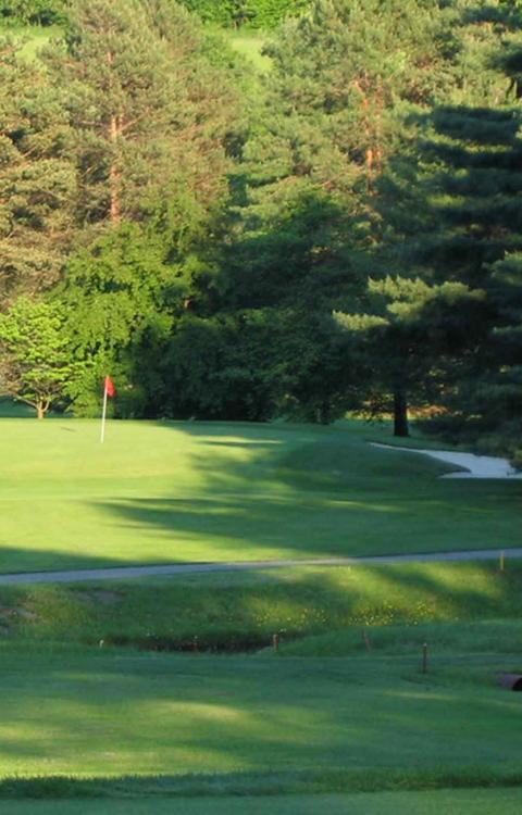 Hole 13 - Latrobe Country Club. Photo credit: Latrobe Country Club.
