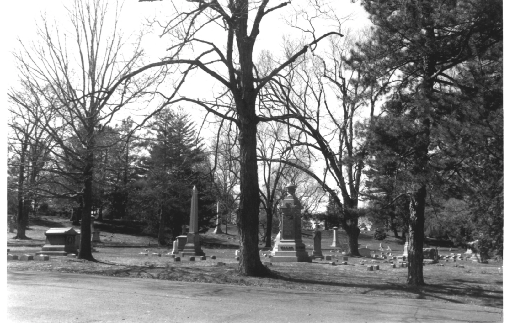 1997 NPS Photo Record of Cedar Hill Cemetary #6