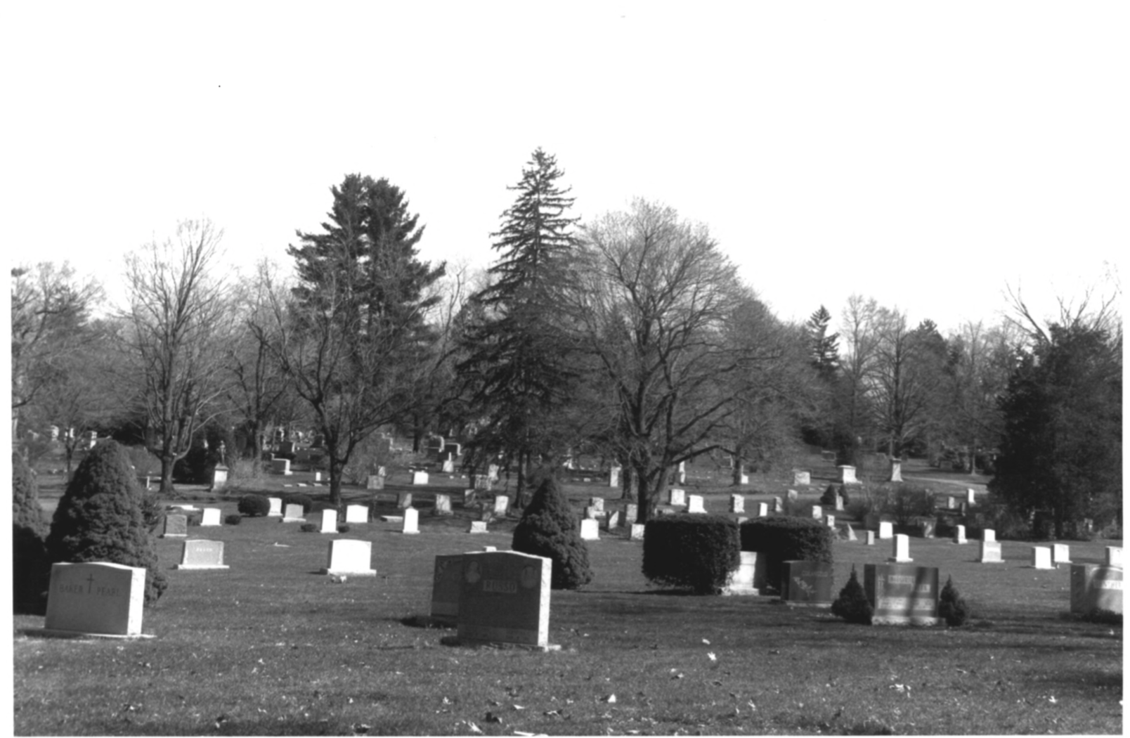 1997 NPS Photo Record of Cedar Hill Cemetary #14