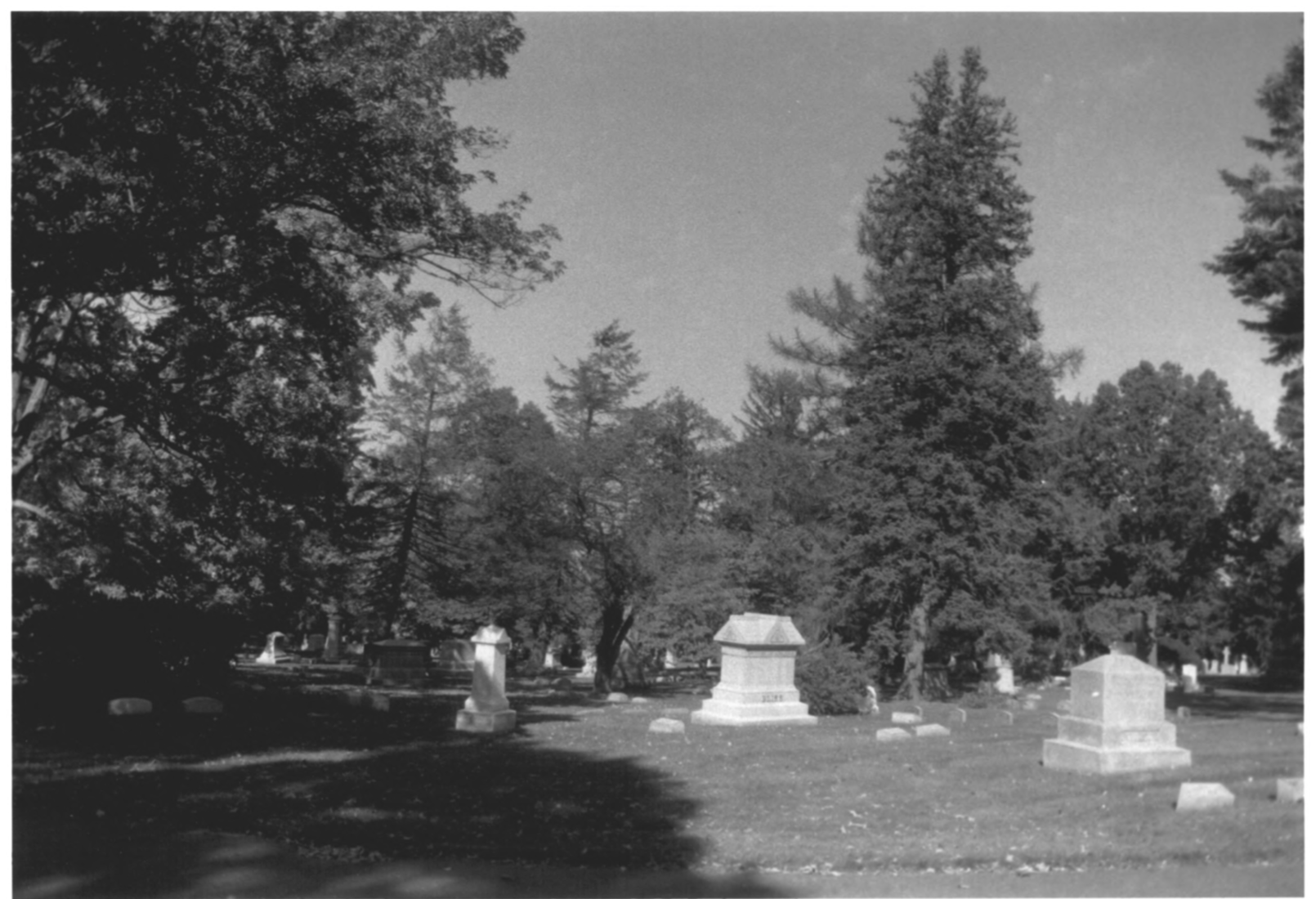 1997 NPS Photo Record of Cedar Hill Cemetary #16