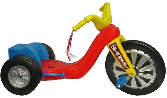 The most popular Marx toy of the 1970s was the Big Wheel.
