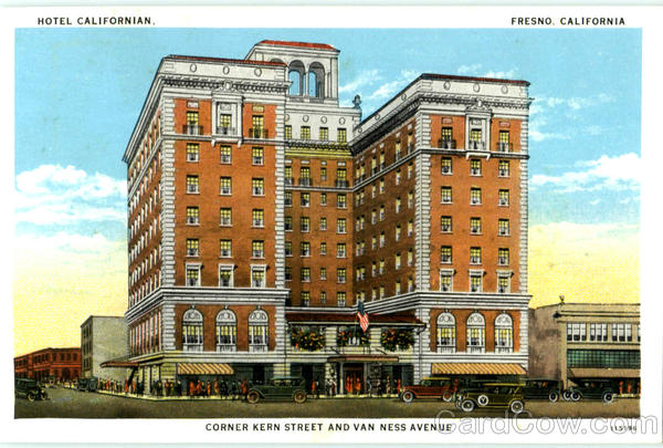 This historic postcard was likely produced within the first decade of the hotel's opening.