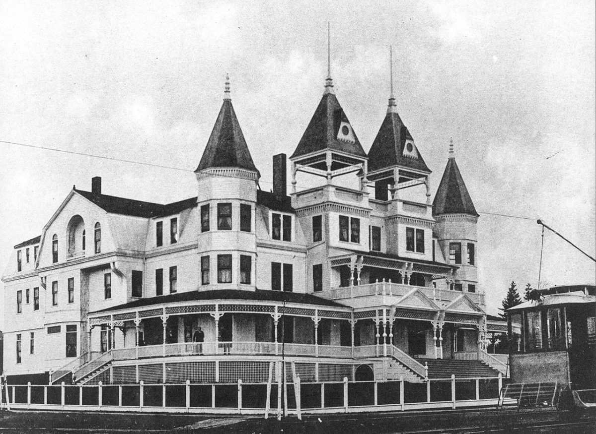 Built in 1892, the first Monte Cristo Hotel was a large Queen Anne style building whose guests more mostly wealthy businessmen..