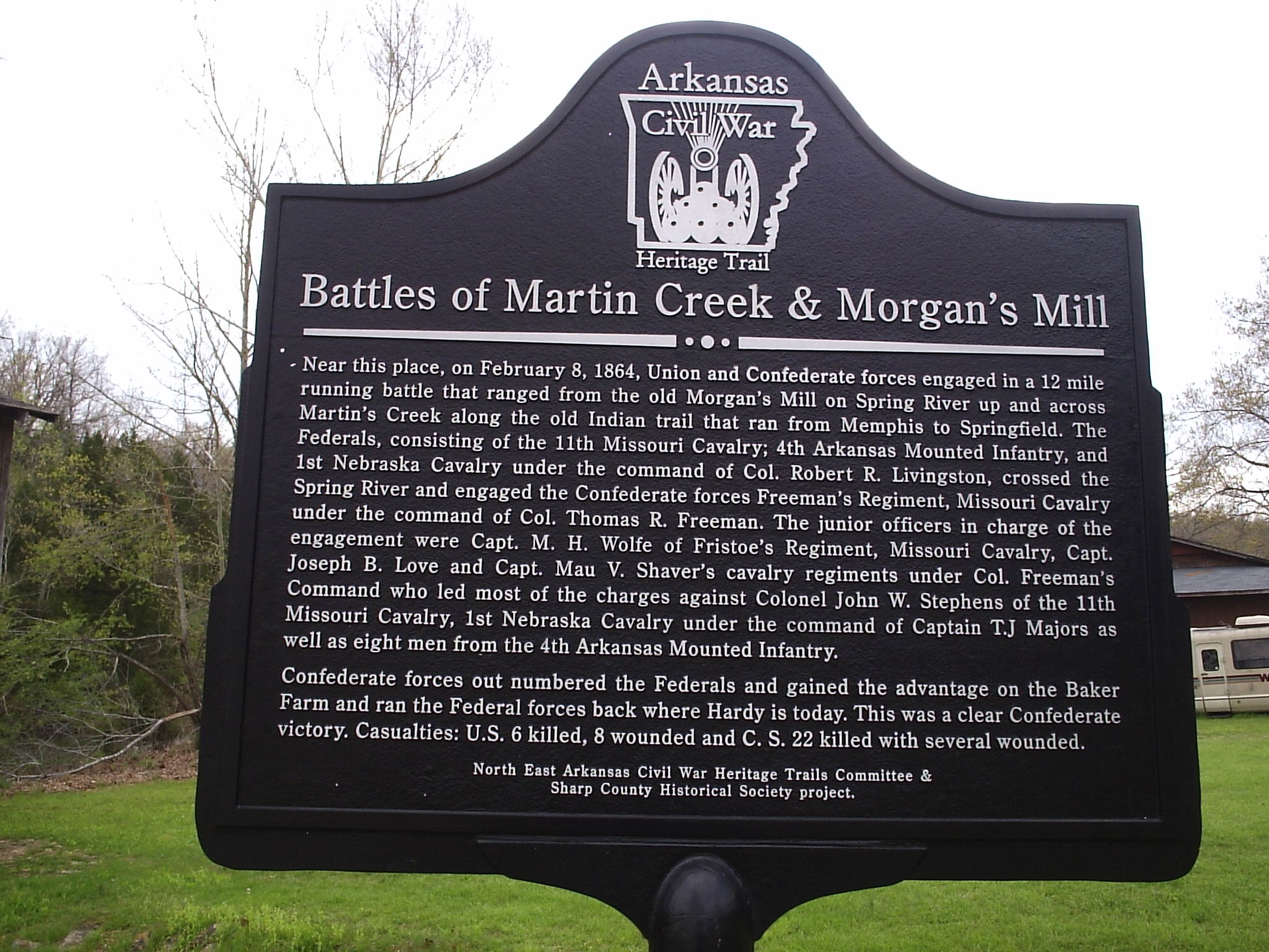 Historical marker erected in 2004.