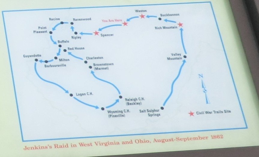 Jenkin's Raid in West Virginia and Ohio, August-September 1862