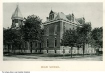 Indianapolis High School, built in 1885