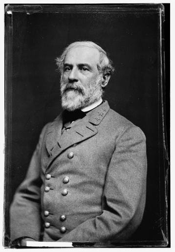 Confederate General Robert E. Lee who lead his Army of Northern Virginia to victory at Manassas and Ox Hill and invaded Maryland.