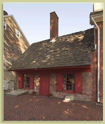 The Dutch House was built in the late 17th century.