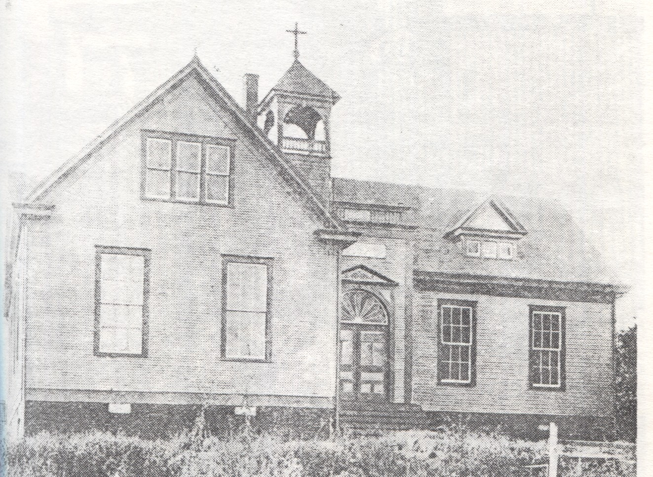 St. Joseph School at the corner of 9th & Sweeney Streets, 1906