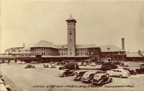 "Union Station- Taken from ""Portland Then and Now"""