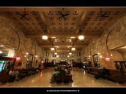 Interior shot of Union Station