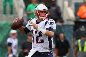 Tom Brady during his record breaking game