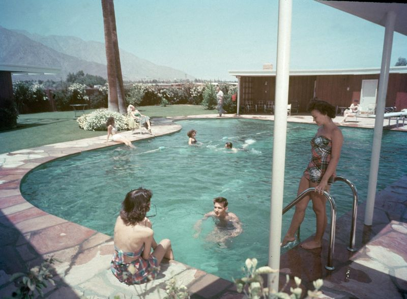 A Party Hosted at Twin Palms During the Sinatra Years, Early 1950s