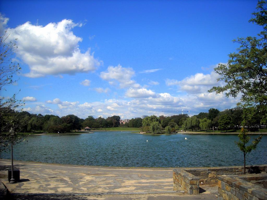 Lake, Constitution Gardens