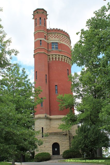 The Eden Park Standpipe has stood silent sentinel at this spot since 1894.