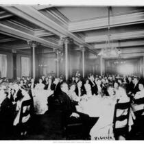 A photo of the Knight of Columbus Banquet held at the hotel.