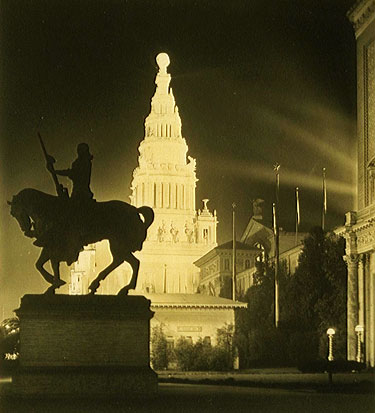 The Pioneer at the Panama-Pacific International Exposition