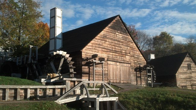 Saugus Forge (image from the National Park Service)