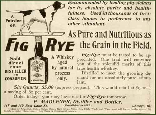 Madlener's Fig Rye Advertisement