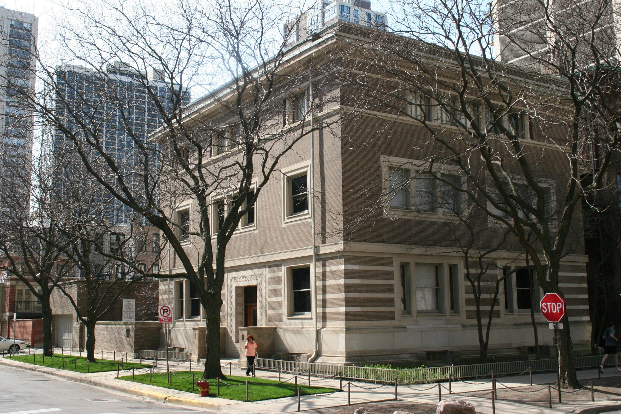 Madlener House in Chicago. Since 1963, the home has served as the headquarters of the Graham Foundation for Advanced Studies in the Fine Arts.