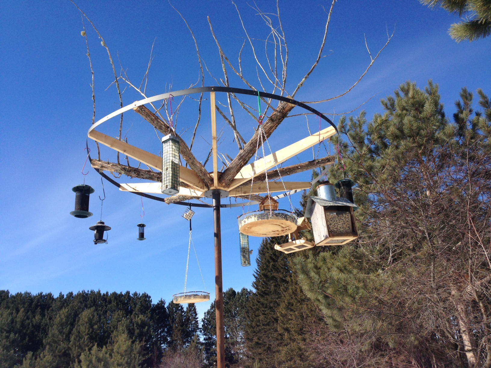 Custom Feeder Hub at Birds' Landing