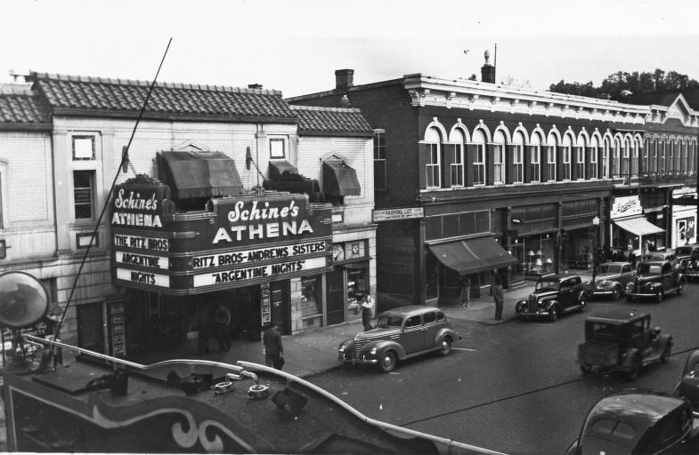The Athena Cinema in 1940