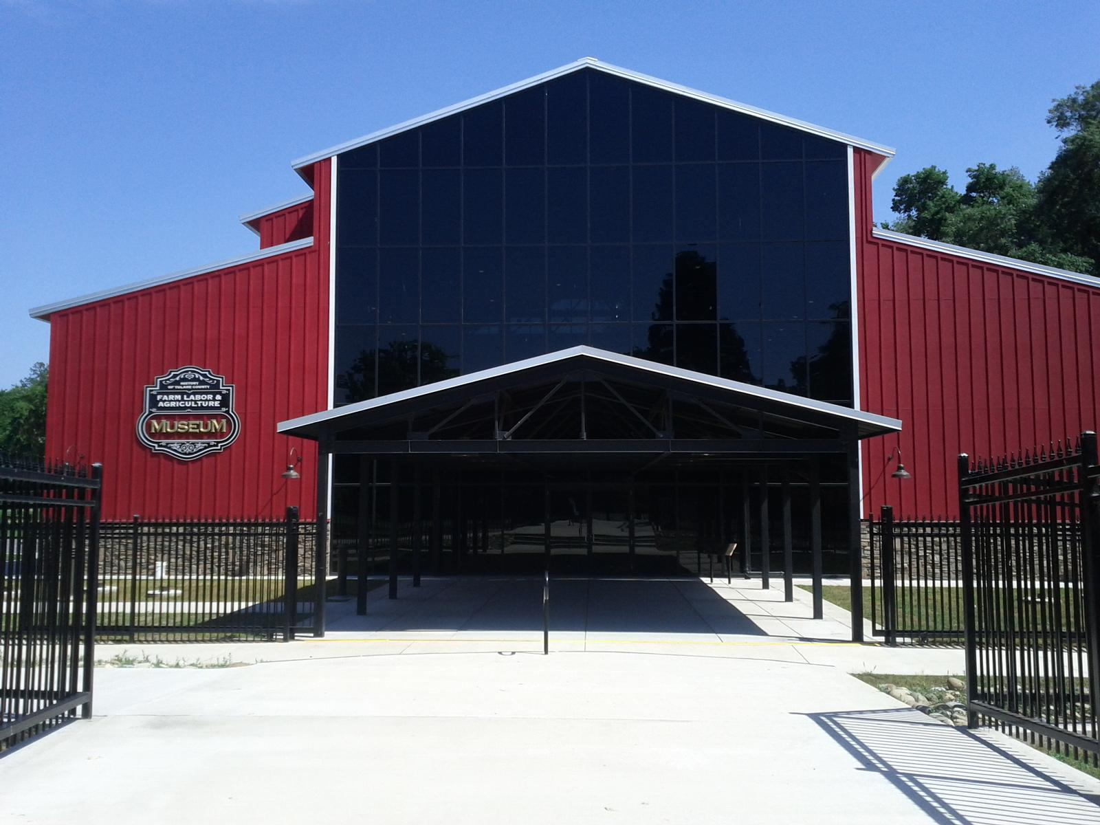 The newest addition to the museum complex is the History of Farm Labor and Agriculture Museum