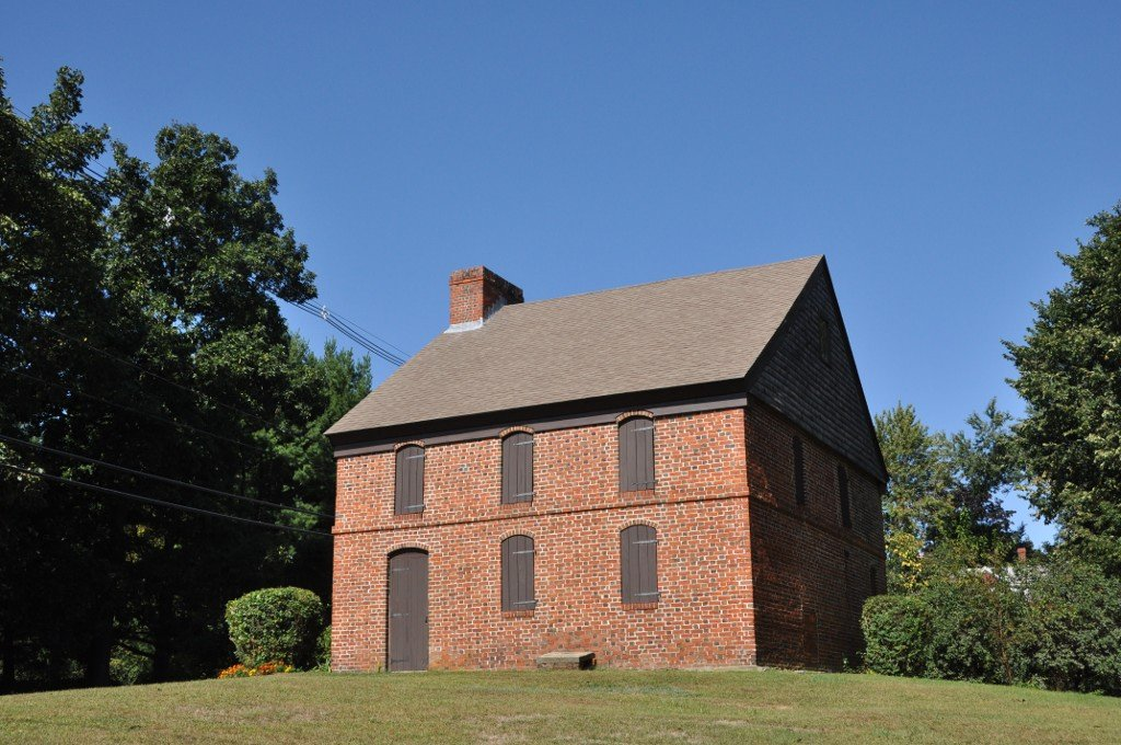 The Dustin House was built around 1698 and is one of the few surviving homes from the First Period.