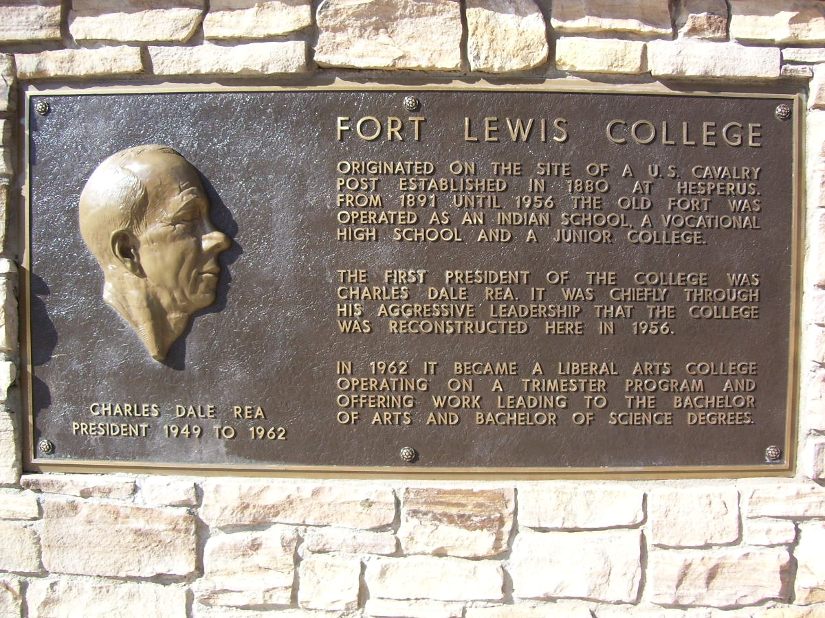 """The first president of the college was Charles Dale Rea"" however, the first Superintendent of the Indian boarding school was Lewis Morgan, NOT the namesake of the college."