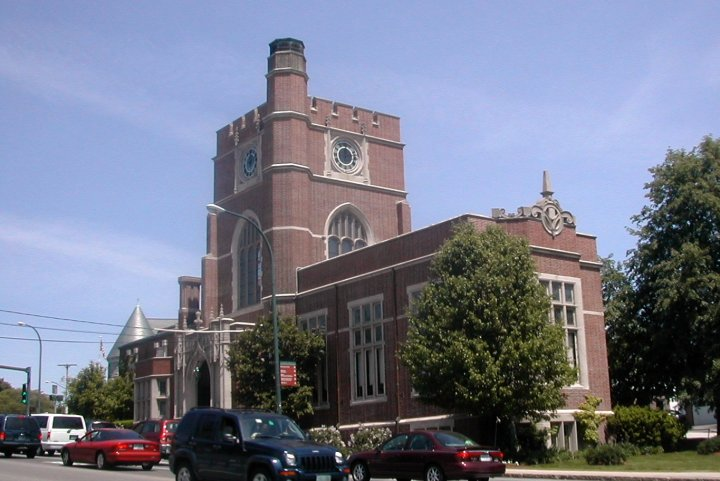 The Hunt Memorial Library is one of Nashua's recognizable and important landmarks.